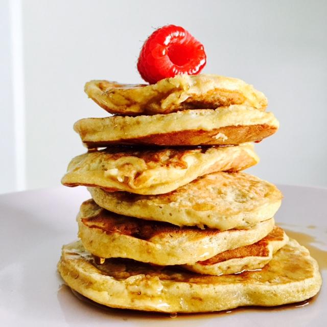 Pancakes con 2 ingredientes