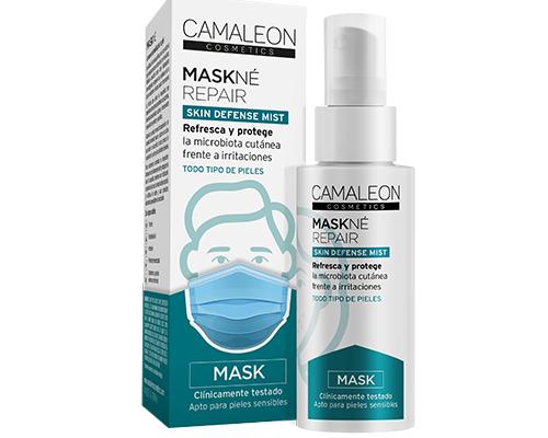 MASKNE MASK skin defense mist caja con envase